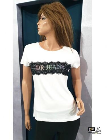 Denny Rose t-shirt art. 011ND64004 bianco