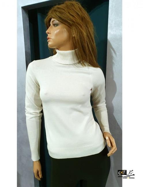 denny rose maglia 021DD50019_a bianco