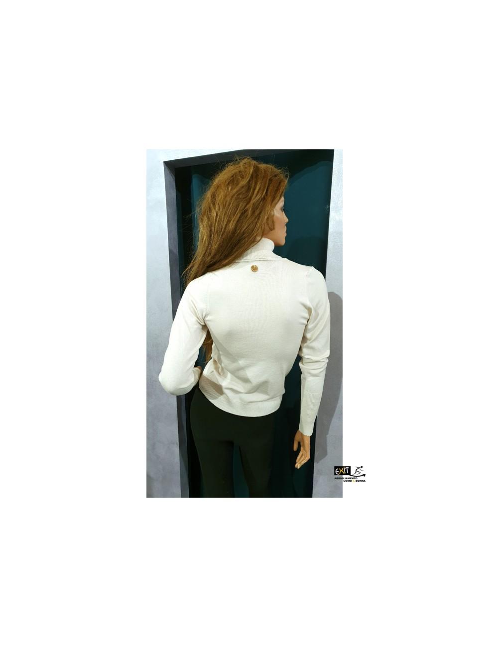 denny rose maglia 021DD50019_c bianco