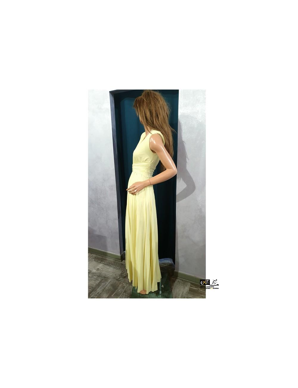 denny rose abito 11DD10050 c giallo